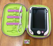 Leapfrog Leappad Xdi Ultra Purple Learning Tablet Stylus Case + Game Excellent