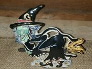 Blue Sky Corp Heather Goldminc - Grissella The Witch - Halloween Tealight - Rare