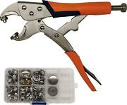 Heavy-duty Snap Setter Fastener Pliers Snap Tool Kit Vice-grip Tool For Metal