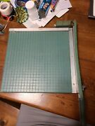 Vintage Premier Brand Photo Materials Co. Paper Cutter 13x13 Guillotine Style