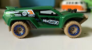 Hot Wheels 2013 Dune Crusher Green -no Box- Used But Good Condition