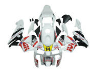 Ft Gloss White Red Yellow Fit For Honda Abs 2003-2004 Cbr600rr Injection U0109