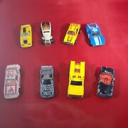 Lot Of 8 Hot Wheels Cars 1970and039s To 2000and039s Malaysia Paramedic T-bird Mustang Merc