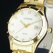 Citizen High-class Womenand039s Watches 28mm Mother-of-pearl Swarro