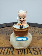 Ron Lee 91 Porky Pig Bathing Looney Tunes Daffy Duck 12/2750 Signed V
