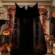 Halloween Decorations 11.15x5.9 Ft Scary Creepy Indoor Outdoor For Home And Garden