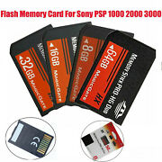 8gb / 16gb / 32gb Ms Memory Stick Pro Duo Storage Card For Sony Psp All Versions