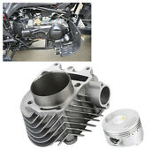Cylinder And Head 61mm Alloy Big Bore Kit Gy6 150cc Scooters Mopeds Perform Zw