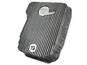 Transmission Oil Pan-pan Raw With Machined Fins Afe Filters 46-70060
