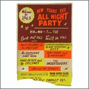 Rory Storm And The Hurricanes 1962 Iron Door Club New Years Eve Party Poster Uk