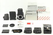 [unused Boxed ] Mamiya Rb67 Pro Sd W/ Wlf Prism Finder 120 220 6x8 From Japan