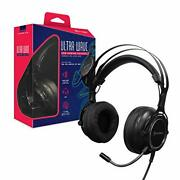 Hyperkin Ultra Wave Usb Gaming Headset For Ps4/ Ps3/ Nintendo Switch/ Pc/ Mac