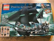 Lego 4184 The Black Pearl Pirates Of The Caribbean Jack Sparrow New And Sealed