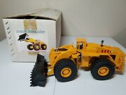 Letourneau L-1800 Wheel Loader - Yellow Asam Smith 148 Scale Model Let01 New