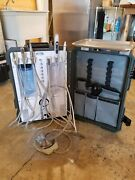 Tpc Portable Dental Unit Compressor With Scaler Curing Light And Tray