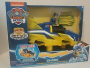 Paw Patrol Mighty Pups Charged Up Transforming Deluxe Vehicle Chase Nickelodeon