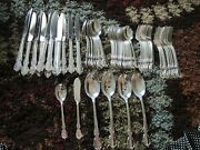 1847 Rogers Brothers Is Reflection Flatware Set For 8 + Extras And Service Pcs