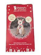 3ft Tall Inflatable Rudolph The Red Nosed Reindeer Indoor/outdoor Decor