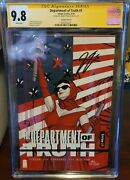 Department Of Truth 1 - Signed By Tynion - 125 - Inhyuk Lee - Variant D