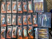 Joblot Spinners Lures Spoons 25 Items Cheap To Clear  Lot 1