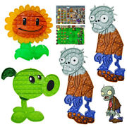 Sensory Plants And Zombies Popit Fidget Toys Adhd Stress Relief Bubble Game Gifts