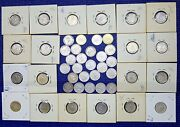 Lot 45 Mexico 20 Cents 1928 1933 1934 1935 1937 1939 1941 1942 1943 Silver Coins