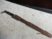 Vintage 19th Century Mexican Unusual Knife Dagger Devil With Boot Pommel Lot X