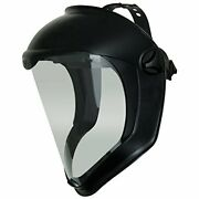 Uvex Bionic Face Shield With Clear Polycarbonate Visor And Anti-fog/hard Coat
