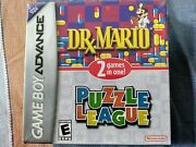 Dr. Mario And Puzzle League Nintendo Game Boy Advance 2005 Sealed