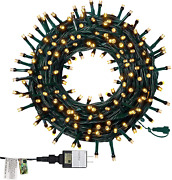 Twinkle Star 66ft 200 Led Christmas String Lights Ul Safe Certified Outdoor In