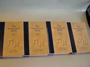 The Interlinear Bible Hebrew And Greek/english 4 Volumes
