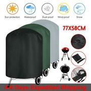 Round Kettle Bbq Grill Cover Waterproof Anti Dust Protect Fit Akorn Weber Grill