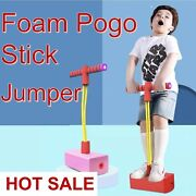 Childrenand039s Toys Foam Pogo Stick Jumper Indoor Outdoor Fun Sensory Toys Sports