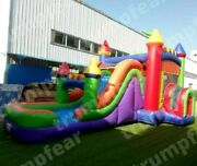 26x13x13 Ft Commercial Inflatable Water Slide With Bounce House And Air Blower