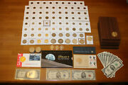 Us Coin/currency Collection Silver, Mint Sets, Proof, Uncirculated, Eisenhower