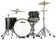 Ludwig Classic Maple Fab 22 Shell Pack - Vintage Black Oyster