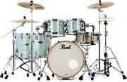 Pearl Session Studio Select 5-piece Shell Pack - 20 Bass Drum - Ice Blue Oyster