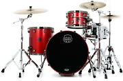 Mapex Saturn Evolution Organic Rock 3-piece Shell Pack - Hybrid - Tuscan Red