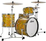 Ludwig Classic Maple Downbeat 20 3-piece Shell Pack - Citrus Mod