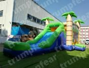 26x13x13 Ft Commercial Inflatable Water Slide And Bounce House With Air Blower