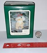Carlton Cards Heirloom Collection Christmas Holiday Purr-fection 102323-3