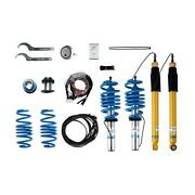Bilstein Road Coil Springs Shock Absorbers Suspension Kit 49-250534 For A4 A5 Ge
