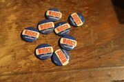 Wallace For President - Campaign Button Lot Of 8- 1