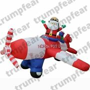 8x8.5x5 Ft Commercial Inflatable Santa Claus Decoration With Air Blower
