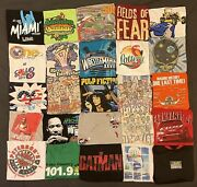 Vintage 90s And Y2k T-shirt Resellers Lot 50 Sport Nascar Nba Tommy Looney Read