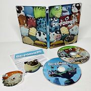 Deformers Xbox One Collectors Edition Steelbook Complete With Stickers Tested