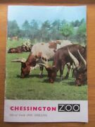 Chessington Zoo Guide 1963  36 Pages Map Photos Park Route + Circus Programme