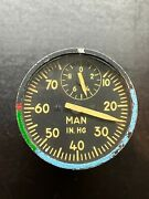 Vintage Pressure Manifold Gage - U.s. Air Force - Refer To The Label For Info.