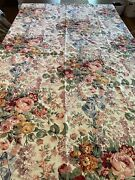 Allison French Country Cottage Tablecloth 69 X 51 Inches