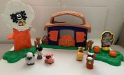 Fisher Price Little People Pumpkin Party Halloween Playset Complete 2010 Retired